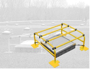 Cageguard Free-Standing Skylight Protector