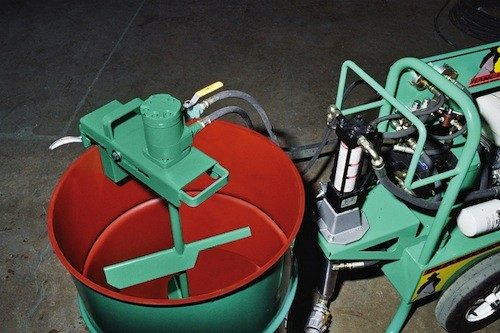 Garlock Ranger Sprayer Hydraulic Pail & Barrel Mixer