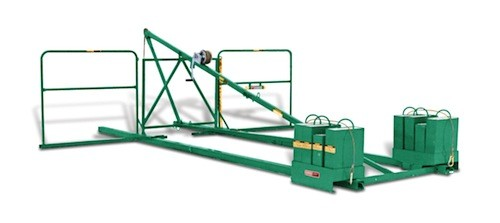 Garlock Trash Chute Support System (no winch)